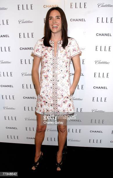 Actress Jennifer Connelly arrives at Elle's 14th Annual Women in Hollywood party held at the Four Seasons on October 15 2007 in Los Angeles California