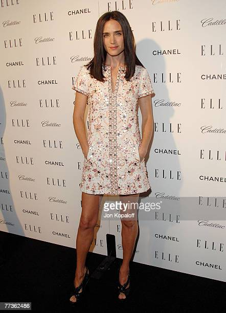 Actress Jennifer Connelly arrives at the '14th Annual Women In Hollywood' at the Four Seasons Hotel on October 15 2007 in Beverly Hills California