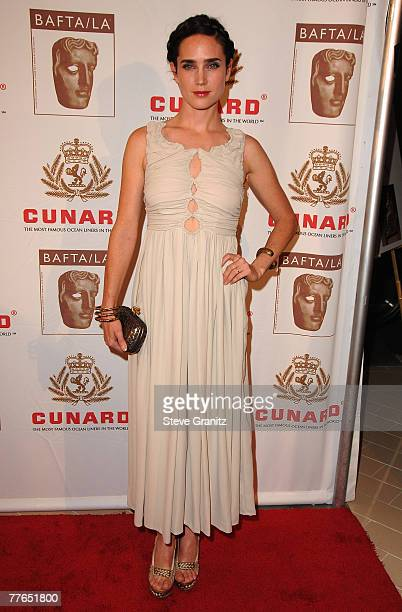 Actress Jennifer Connelly arrives at the British Academy of Film and Television Arts/Los Angeles Awards, 01 November 2007 in Los Angeles, California.