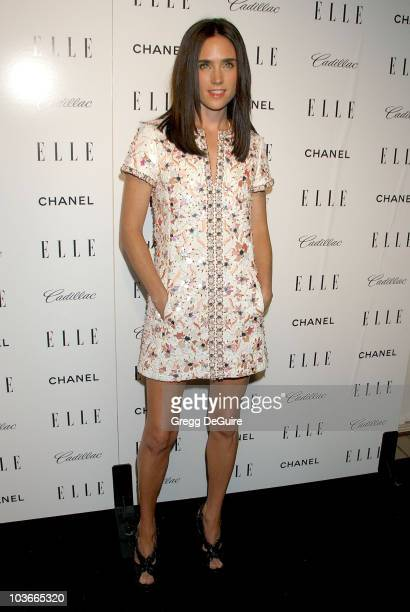 Actress Jennifer Connelly arrives at the Elle Magazine Women in Hollywood Tribute at The Four Seasons Hotel on October 15, 2007 in Beverly Hills,...