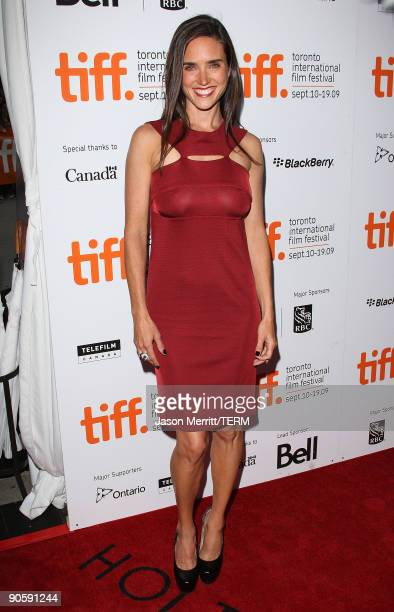 Actress Jennifer Connelly arrives at the Toronto International Film Festival opening night Gala Presentation of 'Creation' held at the Roy Thomson...