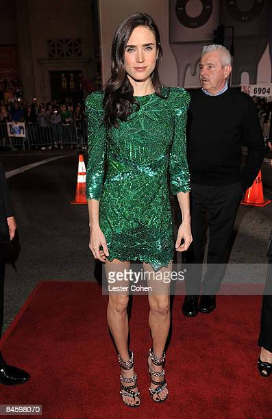 Actress Jennifer Connelly arrives on the red carpet at the Warner Bros Los Angeles Premiere of He's Just Not That Into You held at the Grauman's...