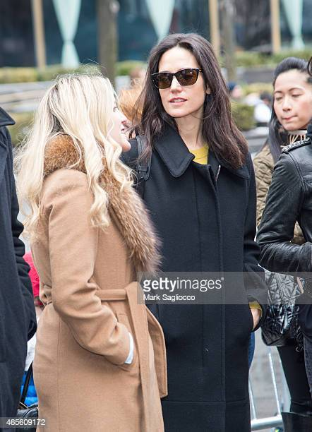 Actress Jennifer Connelly attends the 2015 International Women's Day March at Dag Hammarskjold Plaza on March 8 2015 in New York City