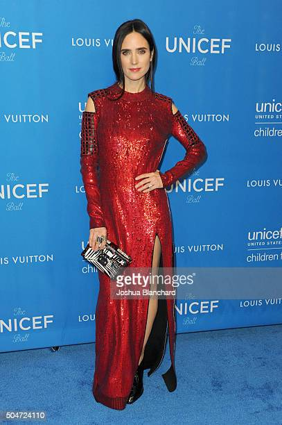 Actress Jennifer Connelly attends the 6th Biennial UNICEF Ball at the Beverly Wilshire Four Seasons Hotel on January 12 2016 in Beverly Hills...
