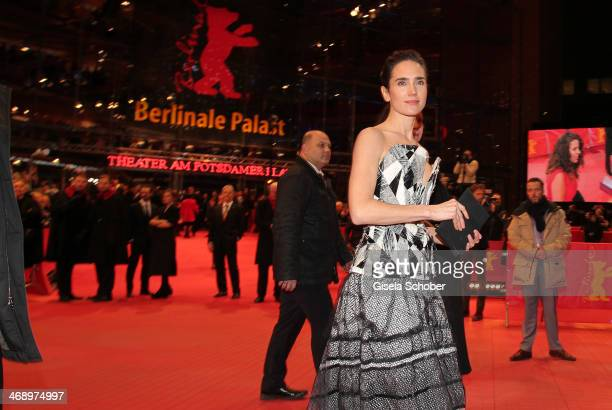 Actress Jennifer Connelly attends the 'Aloft' premiere during 64th Berlinale International Film Festival at Berlinale Palast on February 12 2014 in...