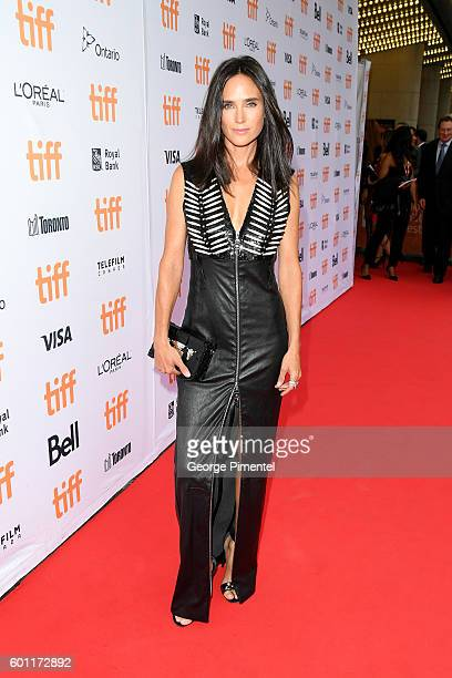 Actress Jennifer Connelly attends the American Pastoral during the 2016 Toronto International Film Festival premiere at Princess of Wales Theatre on...