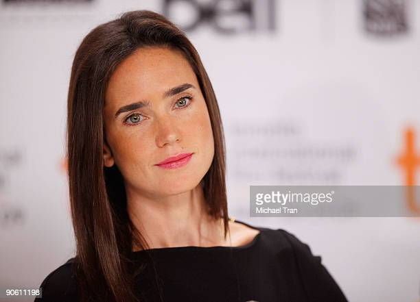 Actress Jennifer Connelly attends the 'Creation' press conference during the 2009 Toronto International Film Festival held at Sutton Place Hotel on...