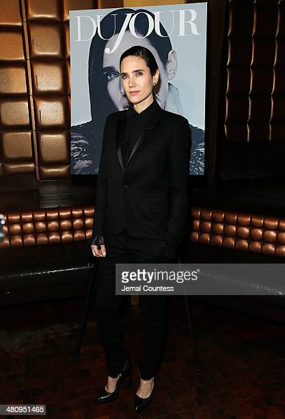 Actress Jennifer Connelly attends the DuJour Magazine Spring 2014 Issue celebration at Lavo on March 27 2014 in New York City