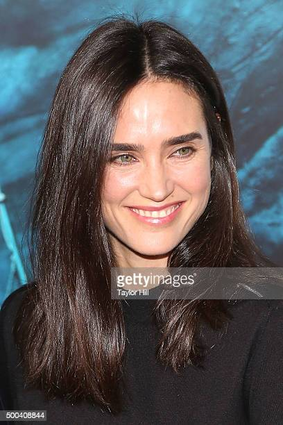 Actress Jennifer Connelly attends the In the Heart of the Sea premiere at Frederick P Rose Hall Jazz at Lincoln Center on December 7 2015 in New York...