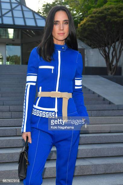 Actress Jennifer Connelly attends the Louis Vuitton Resort 2018 show at the Miho Museum on May 14 2017 in Koka Japan