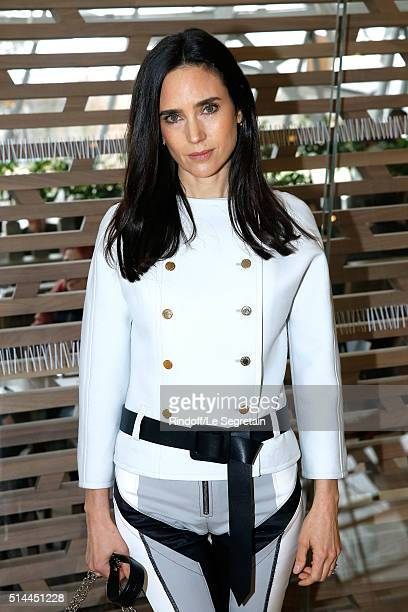 Actress Jennifer Connelly attends the Louis Vuitton show as part of the Paris Fashion Week Womenswear Fall/Winter 2016/2017 Held at Louis Vuitton...