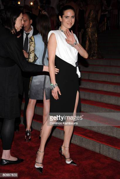 """Actress Jennifer Connelly attends the Metropolitan Museum of Art Costume Institute Gala """"Superheroes: Fashion And Fantasy"""" at the Metropolitan Museum..."""