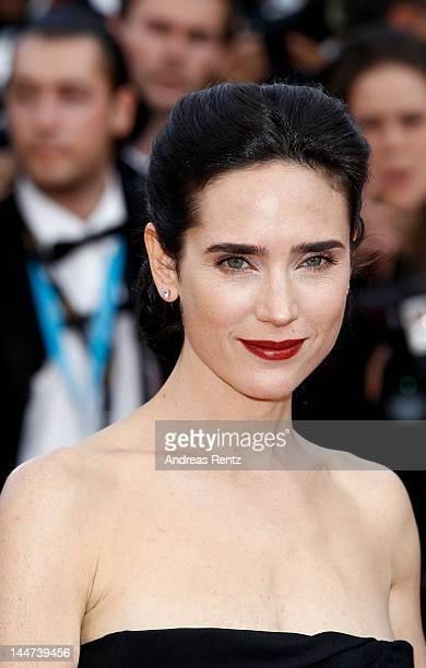 Actress Jennifer Connelly attends the 'Once Upon A Time' Premiere during 65th Annual Cannes Film Festival during at Palais des Festivals on May 18...
