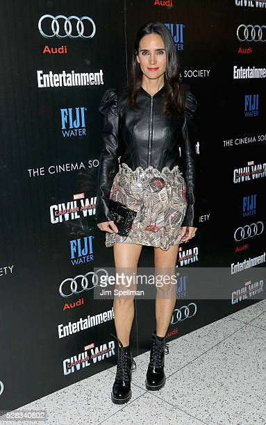 Actress Jennifer Connelly attends the screening of Marvel's 'Captain America Civil War' hosted by The Cinema Society with Audi FIJI at Brookfield...