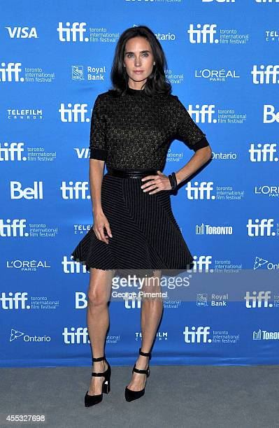 "Actress Jennifer Connelly attends the ""Shelter"" Press Conference during the 2014 Toronto International Film Festival at TIFF Bell Lightbox on..."