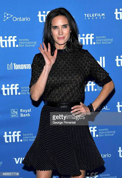 Actress Jennifer Connelly attends the 'Shelter' Press Conference during the 2014 Toronto International Film Festival at TIFF Bell Lightbox on...