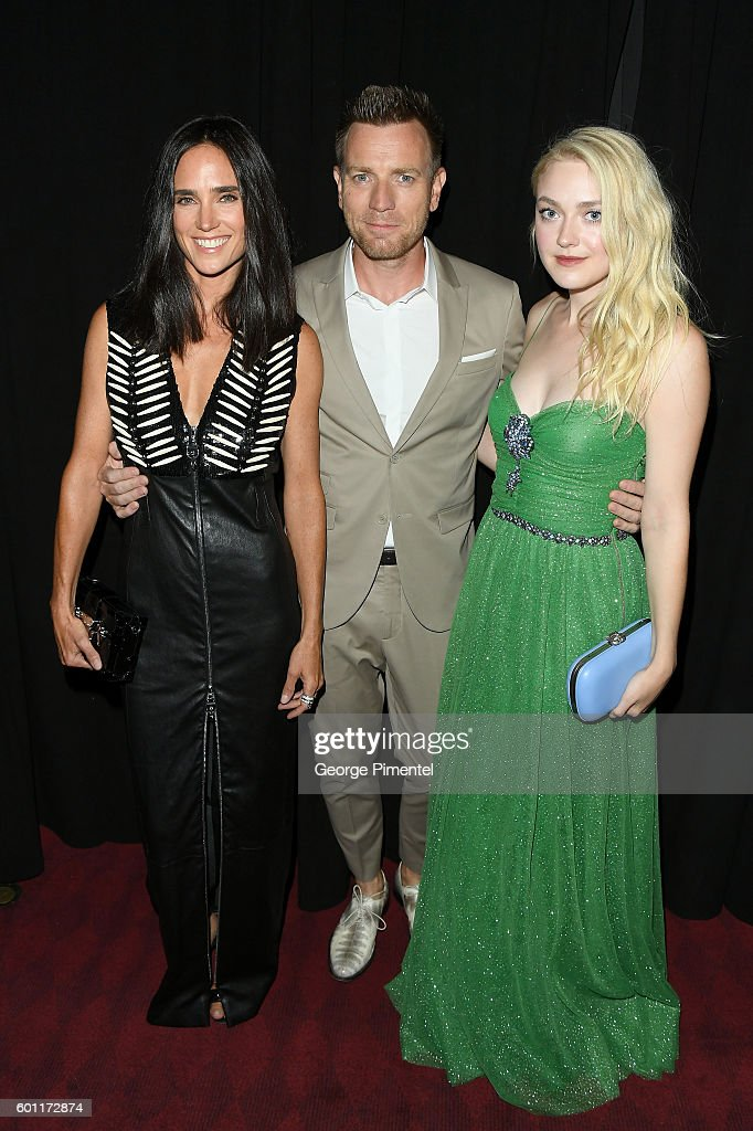 Actress Jennifer Connelly, Director/Actor Ewan McGregor and Actress Dakota Fanning attend the 'American Pastoral' during the 2016 Toronto International Film Festival premiere at Princess of Wales Theatre on September 9, 2016 in Toronto, Canada.