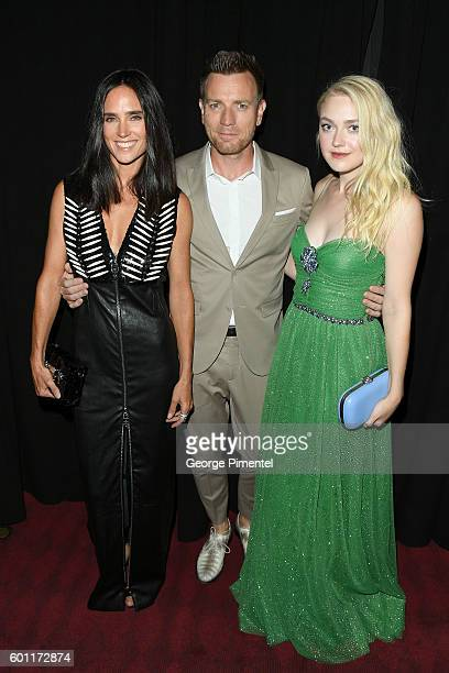 Actress Jennifer Connelly Director/Actor Ewan McGregor and Actress Dakota Fanning attend the American Pastoral during the 2016 Toronto International...