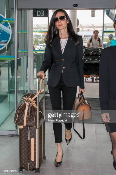 Actress Jennifer Connelly is seen during the 71st annual Cannes Film Festival at Nice Airport on May 16 2018 in Nice France
