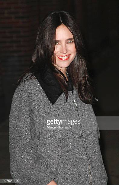 Actress Jennifer Connelly visits Late Show With David Letterman at the Ed Sullivan Theater on January 5 2011 in New York City
