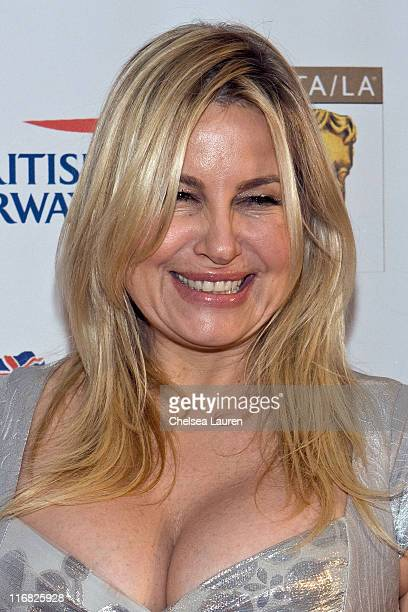Actress Jennifer Coolidge arrives at the 2nd Annual British Comedy Festival at the Four Seasons Hotel on May 8 2009 in Beverly Hills California