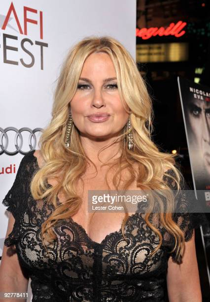 Actress Jennifer Coolidge arrives at the AFI Fest Screening Of Bad Lieutenant Port Of Call New Orleans Grauman's Chinese Theatre on November 4 2009...
