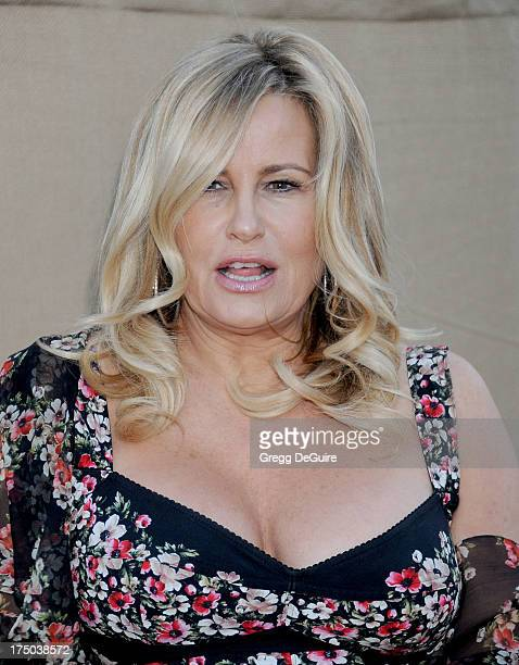 Actress Jennifer Coolidge arrives at the CBS/CW/Showtime Television Critic Association's summer press tour party at 9900 Wilshire Blvd on July 29...