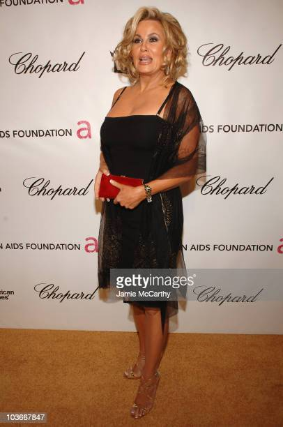 Actress Jennifer Coolidge attends the 16th Annual Elton John AIDS Foundation Oscar Party at the Pacific Design Center on February 24, 2008 in West...
