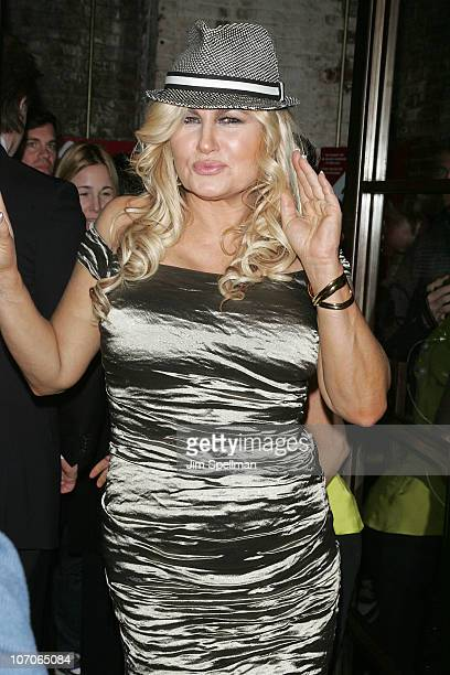 Actress Jennifer Coolidge attends the after party following the Broadway opening night of 'Elling' on November 21 2010 at the Soho House in New York...
