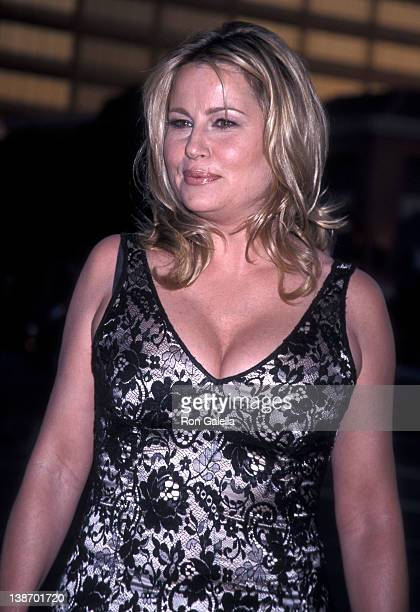 Actress Jennifer Coolidge attends the 'American Pie 2' Westwood Premiere on August 6 2001 at Mann National Theatre in Westwood California