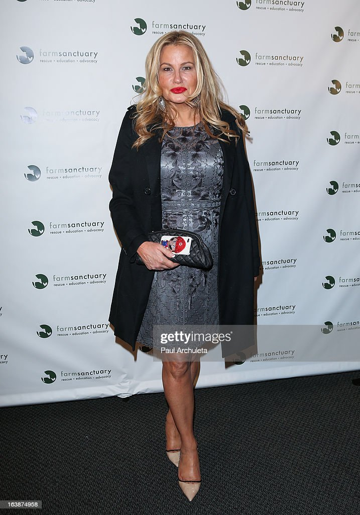 Actress Jennifer Coolidge attends the 'Fun For Animals' celebrity poker tournament at Petersen Automotive Museum on March 16, 2013 in Los Angeles, California.