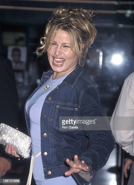 Actress Jennifer Coolidge attends the O Century City Premiere on August 27 2001 at Loews Cineplex Century Plaza Theatres in Century City California