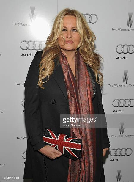Actress Jennifer Coolidge attends the party hosted by the Weinstein Company and Audi to Celebrate Awards Season at Chateau Marmont on January 11 2012...