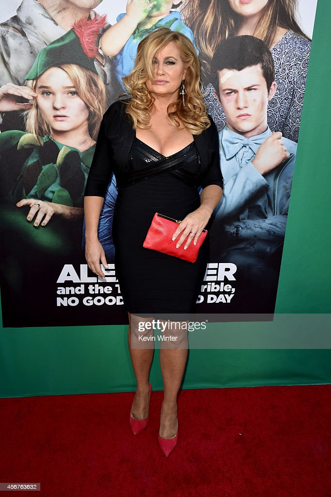 Actress Jennifer Coolidge attends the premiere of Disney's 'Alexander and the Terrible, Horrible, No Good, Very Bad Day' at the El Capitan Theatre on October 6, 2014 in Hollywood, California.
