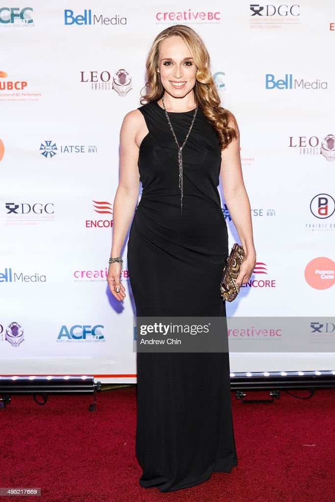 Actress Jennifer Copping attends the 2014 Leo Awards - Gala Awards Ceremony at Fairmont Hotel Vancouver on June 1, 2014 in Vancouver, Canada.