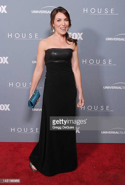 Actress Jennifer Crystal Foley arrives at Fox's House Series Finale Wrap Party at Cicada on April 20 2012 in Los Angeles California