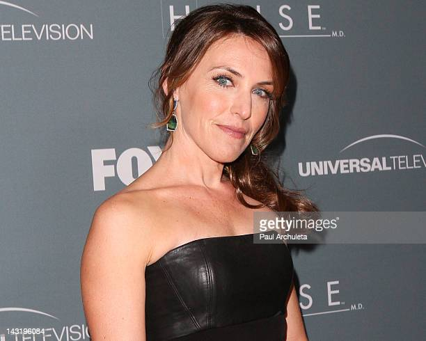 Actress Jennifer Crystal Foley attends Fox's House series finale wrap party at Cicada on April 20 2012 in Los Angeles California