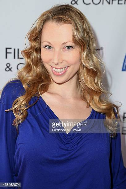 Actress Jennifer Day of Jennifer Day TV and Film attends The 2014 American Film Market at the Loews Santa Monica Beach Hotel on November 5 2014 in...