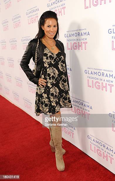 Actress Jennifer Dorogi attends Glamorama Fashion in a New Light benefiting AIDS Project Los Angeles presented by Macy's Passport at Orpheum Theatre...