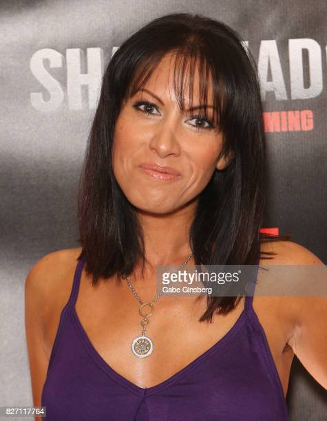 """Actress Jennifer Dorogi attends the premiere of """"Sharknado 5: Global Swarming"""" at The Linq Hotel & Casino on August 6, 2017 in Las Vegas, Nevada."""