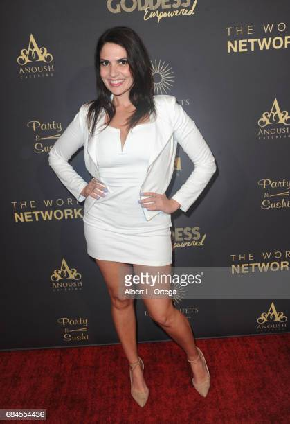 Actress Jennifer Durst arrives for The World Networks Presents Launch Of The Goddess Empowered held at Brandview Ballroom on May 17 2017 in Glendale...