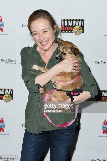 Actress Jennifer Ehle attends the 19th Annual Broadway Barks at Shubert Alley on July 8 2017 in New York City