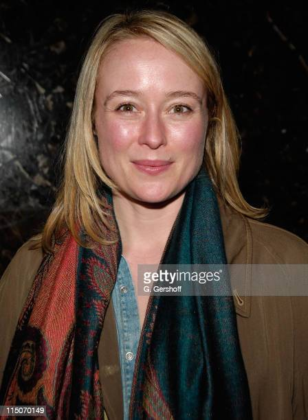 """Actress Jennifer Ehle attends the """"Unconditional"""" Opening Night party at Colors on February 18, 2008 in New York City."""