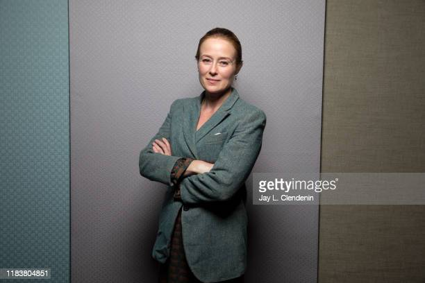 Actress Jennifer Ehle from 'Saint Maud' is photographed for Los Angeles Times on September 9, 2019 at the Toronto International Film Festival in...