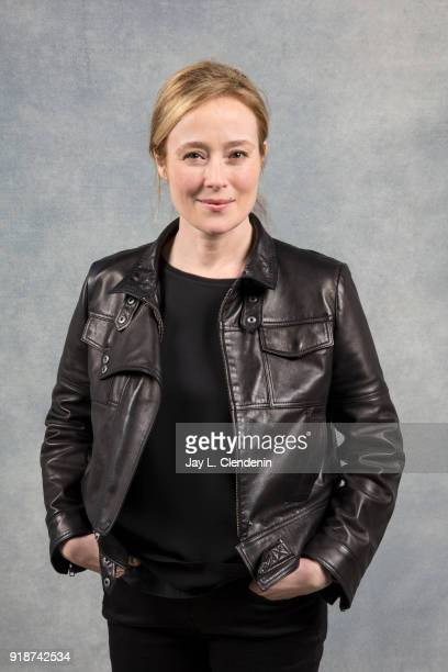 Actress Jennifer Ehle from the film 'Monster' is photographed for Los Angeles Times on January 21 2018 in the LA Times Studio at Chase Sapphire on...