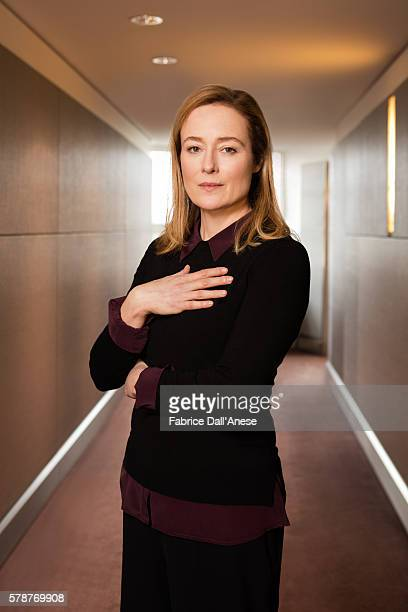 Actress Jennifer Ehle is photographed for GQ Germany on February 19, 2016 in Berlin, Germany.