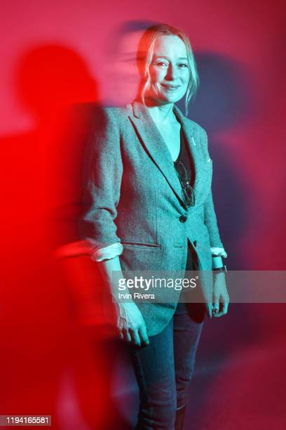 Actress Jennifer Ehle is photographed for The Wrap on January 27, 2019 at the Sundance Film Festival in Salt Lake City, Utah.