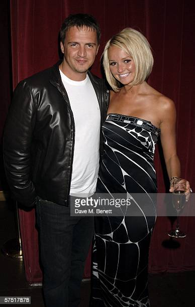 "Actress Jennifer Ellison and Tony Richardson attend the ""Chicago: The Musical"" celebrity party to celebrate the West End transfer of the popular..."