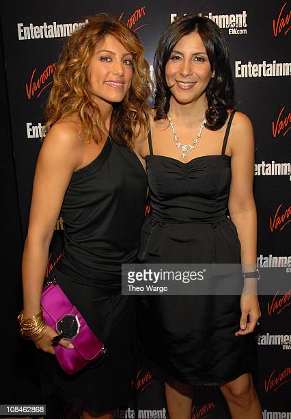 Actress Jennifer Esposito and Senior Director of Matrix Integrated Communications Vivianna Barrera attend the Entertainment Weekly Vavoom Annual...