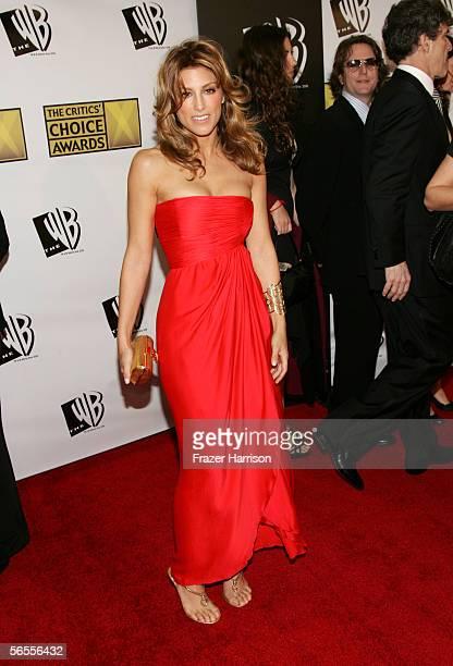 Actress Jennifer Esposito arrives at the 11th Annual Critics' Choice Awards held at the Santa Monica Civic Auditorium on January 9, 2006 in Santa...